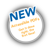 Accessible PDFs